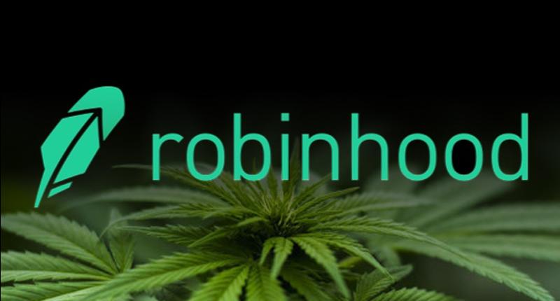 pot stocks on robinhood